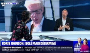 Boris Johnson, isolé mais déterminé
