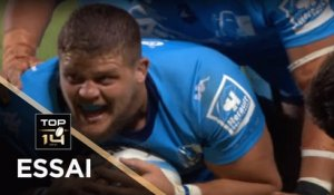 TOP 14 - Essai Paul WILLEMSE 1 (MHR) - Montpellier - La Rochelle - J3 - Saison 2019/2020