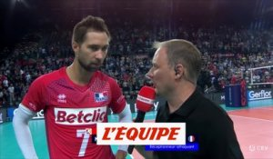 K. Tillie «Le plus dur commence» - Volley - Euro (H)