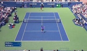 Tennis Joli point de Dimitrov (US OPEN)