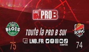 Leaders Cup PRO B : Blois vs Saint-Chamond (J3)