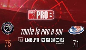 Leaders Cup PRO B : Paris vs Rouen (J6)