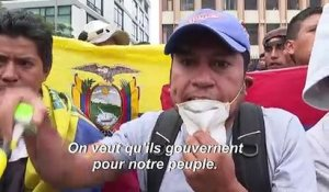 Equateur : incidents à Quito entre des manifestants et la police