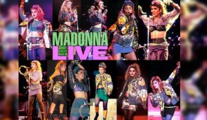MADONNA - THE VIRGIN TOUR (1985) Concerto