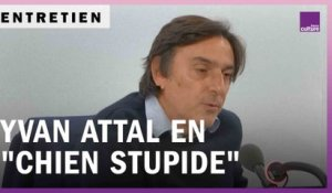 Yvan Attal en mode John Fante