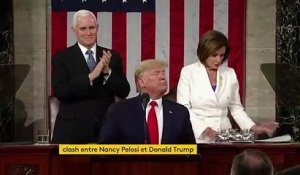 Etats-Unis : nouveau clash entre Nancy Pelosi et Donald Trump
