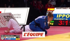 Clément en bronze à Paris - Judo - Grand Slam