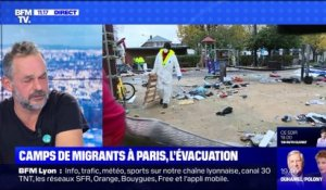 Camps de migrants à Paris, l'évacuation (2) - 07/11