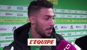 Bouanga «On s'est donnés au maximum» - Foot - L1 - ASSE