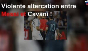 Violente altercation entre Messi et Cavani !