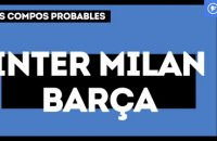 Inter Milan-FC Barcelone : les compositions probables