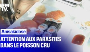 Amateurs de poisson cru: attention aux infections par des parasites !