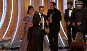 "Golden Globes : ""Once Upon a Time... in Hollywood"" de Quentin Tarantino et ""1917"" de Sam Mendes, grands vainqueurs de la nuit à Los Angeles"