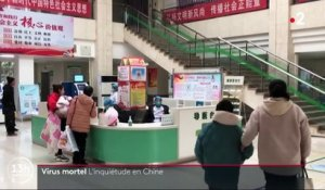 Virus mortel : l'inquiétude en Chine