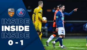 Inside : FC Lorient - Paris Saint-Germain
