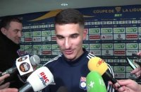 OL : Houssem Aouar raconte son joli but