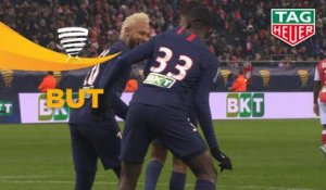 But Tanguy KOUASSI (77ème) / Stade de Reims - Paris Saint-Germain - (0-3) - (REIMS-PARIS) / 2019-20