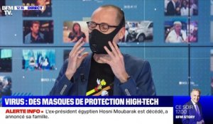 Virus: des masques de protection high-tech - 25/02