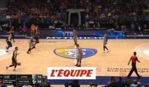 L'Asvel coule en Russie - Basket - Euroligue - 26e j.