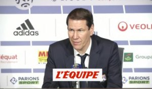 Garcia «On doit plier le match plus tôt» - Foot - L1 - OL