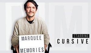 Marquee Memories: Cursive Recalls Seeing Fugazi, Archers of Loaf, and The Faint Live