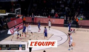 L'Olympiacos consolide sa position - Basket - Euroligue (H)