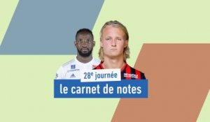 De Dolberg à Dembélé, le carnet de notes de la 28e journée - Foot - L1