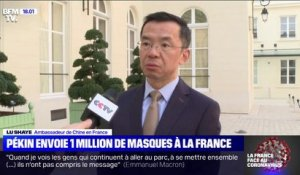 La Chine envoie un million de masques à la France