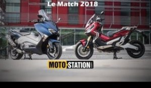 Honda X-ADV vs Yamaha TMAX DX : Le match choc scooter 2018 !