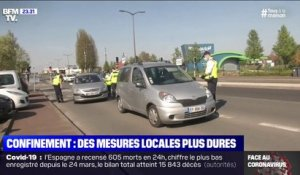 Confinement: des mesures locales plus dures