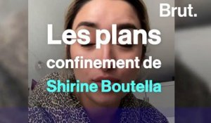 Les bons plans confinement de Shirine Boutella