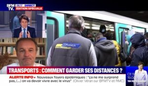 Transports: comment garder ses distances ? - 11/05