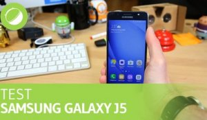 SAMSUNG GALAXY J5 (2016) : Le Test