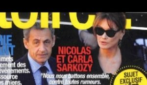 Carla Bruni, Nicolas Sarkozy, grande fête en catimini, son message (photo)