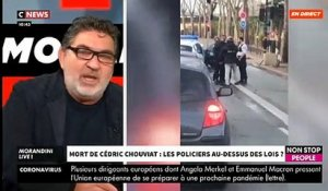 Le père de Cédric Chouviat s'exprime en direct dans « Morandini Live » sur CNews et Non Stop People - VIDEO