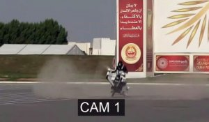 Crash d'un hoverbike