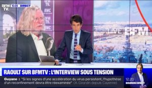 Raoult sur BFMTV: l'interview sous tension (3) - 25/06