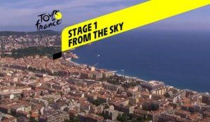 Tour de France 2020 - Étape 1 vue du ciel / Stage 1 from the sky : Nice