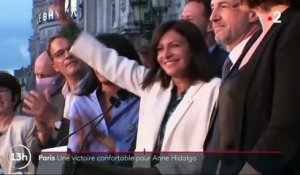 Municipales : la victoire confortable d'Anne Hidalgo, à Paris