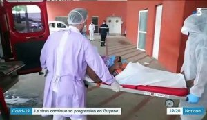 Covid-19 : le virus continue sa progression en Guyane