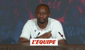 Vieira : «Je suis satisfait» - Foot - Amical - Nice