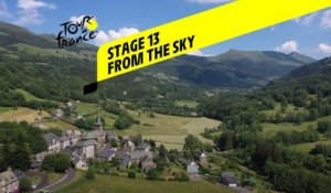 Tour de France 2020 - Étape 13 vue du ciel / Stage 13 from the sky : Chatel Guyon - Puy Mary