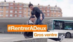 #RentrerADeux - Gros ventre - Orange
