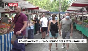 Zones actives de circulation du virus : l'inquiétude des restaurateurs à Paris