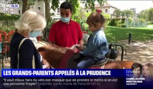 Coronavirus: les grands-parents appelés à la prudence