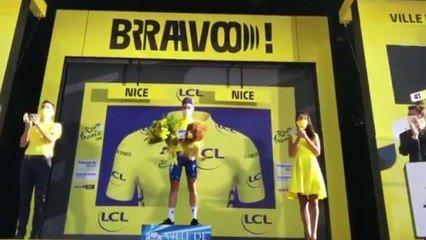 Tour De France 2020 Julian Alaphilippe Gagne La 2e Etape A Nice Elle Est Pour Mon Pere Celle La