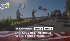 #TDF2020 - Étape 2 / Stage 2 - Daily Onboard Camera