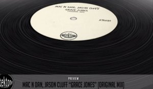 Mac N Dan, Jason Cluff - Grace Jones (Original Mix) - Official Preview (Autektone Records)