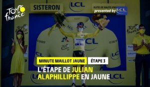 #TDF2020 - Étape 3 / Stage 3 - LCL Yellow Jersey Minute / Minute Maillot Jaune