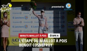 #TDF2020 - Étape 4 / Stage 4 - E.Leclerc Polka Dot Jersey Minute / Minute Maillot à Pois